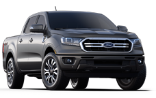 New Ford Rangers near High River